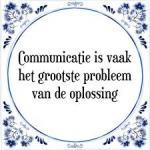 Communicatie !